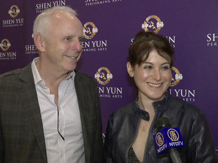 Jessica Shani attended Shen Yun Performing Arts with Mr. Touhey.