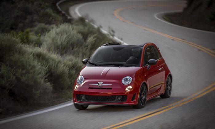 2015 Fiat Abarth (Courtesy of Chrysler/Fiat)
