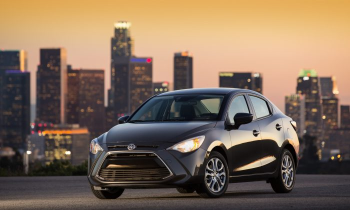 2016 Scion iA (Courtesy of Toyota/Scion)