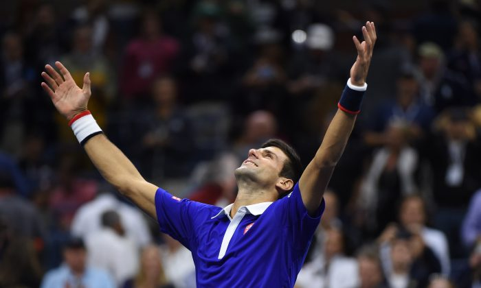 Novak Djokovic won the 2015 US Open, giving him 10 major titles for his career. (Jewel Samad/AFP/Getty Images)