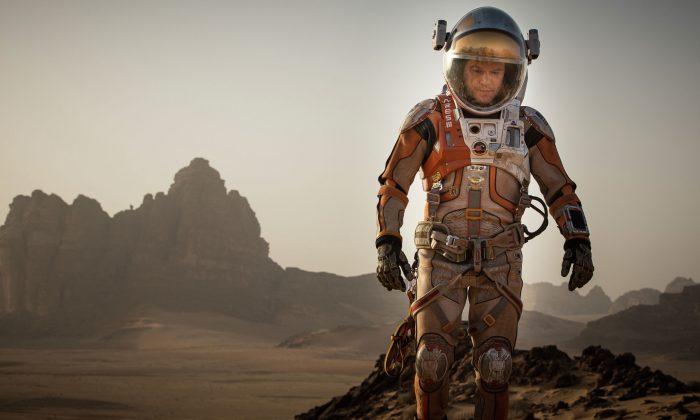 Matt Damon portrays an astronaut who faces seemingly insurmountable odds as he tries to find a way to subsist on Mars. (Twentieth Century Fox /Twentieth Century Fox Film Corporation)