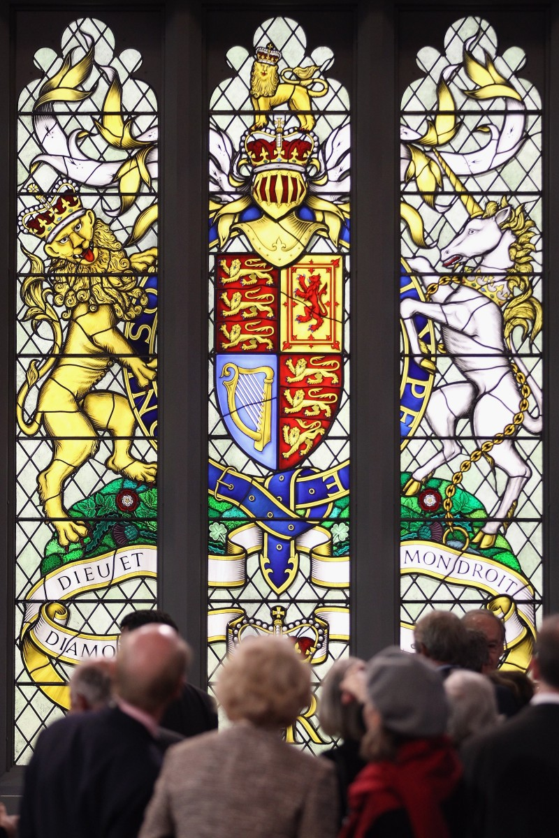 stained glass widow
