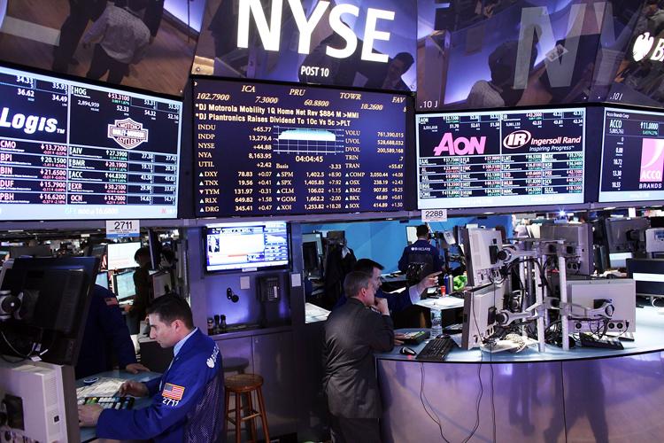 Dow Jones Industrials Average Reaches Four Year High