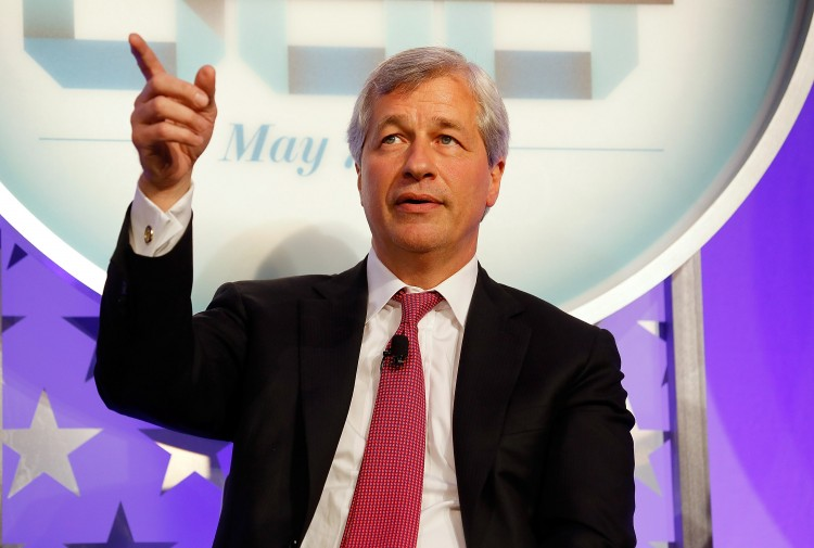 Chairman and CEO of JPMorgan Chase & Co. Jamie Dimon