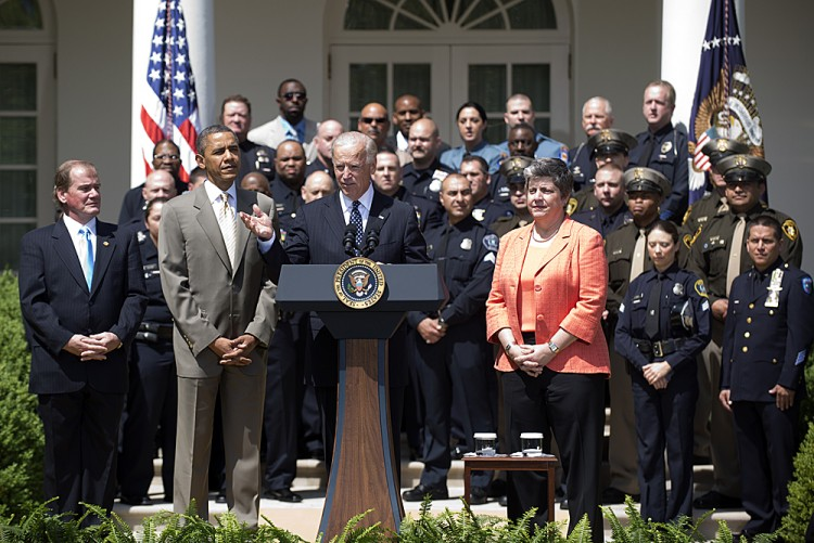 Obama And Biden Honor America's Top Police Officers