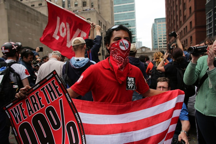 NATO Summit Convenes In Chicago, Drawing Protests
