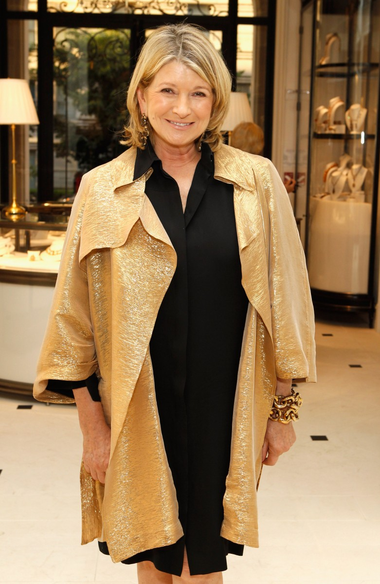Martha Stewart seen here at the Ralph Lauren