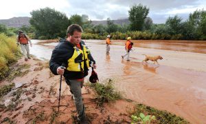 Searchers Look for Flood Victims in Polygamous Utah Town