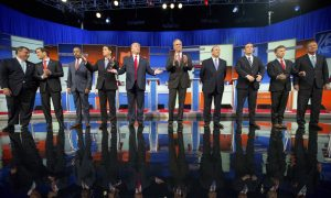 GOP Candidates Vie to Break Out of Trump's Shadow in Debate