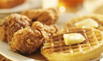Recipe: Healthier Chicken and Waffles