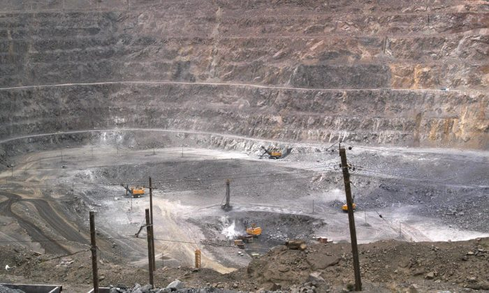 File photo of a rare earth mine in the Baiyunebo mining district of Baotou in north China's Inner Mongolia Autonomous Region. China is the world's largest supplier of rare earth elements. (AP Photo, File)