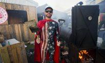 DJ BBQ Smokin' It up at Grillstock in London