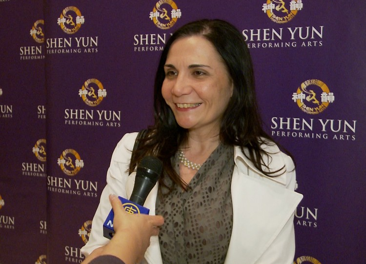 Elizabeth Torres shares her Shen Yun experience