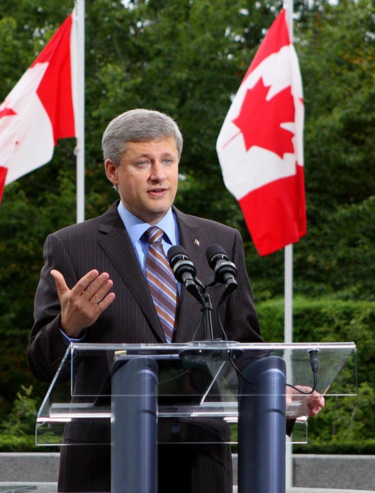 Prime Minister Stephen Harper  (The Epoch Times)
