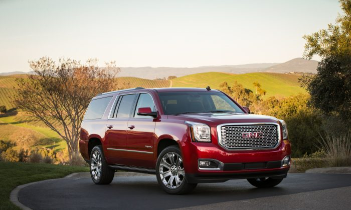 2015 GMC Yukon XL Denali (Courtesy of GM Corp)