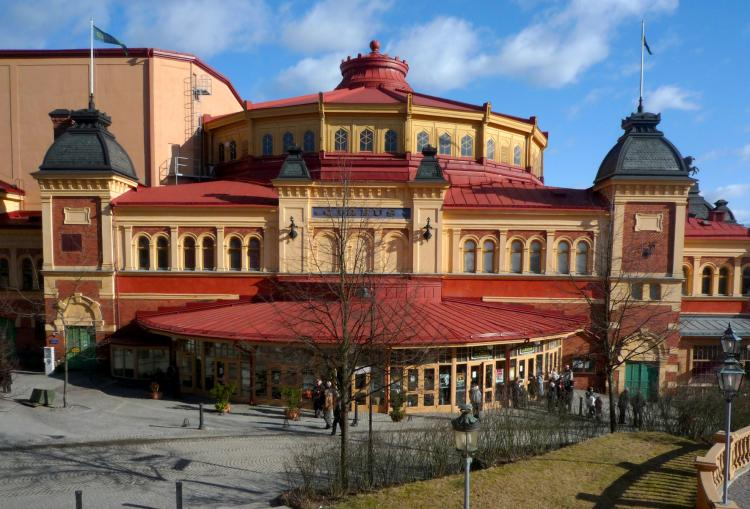 Cirkus, Stockholm's multi-purpose theater and venue for the Shen Yun Performing Arts. (The Epoch Times)