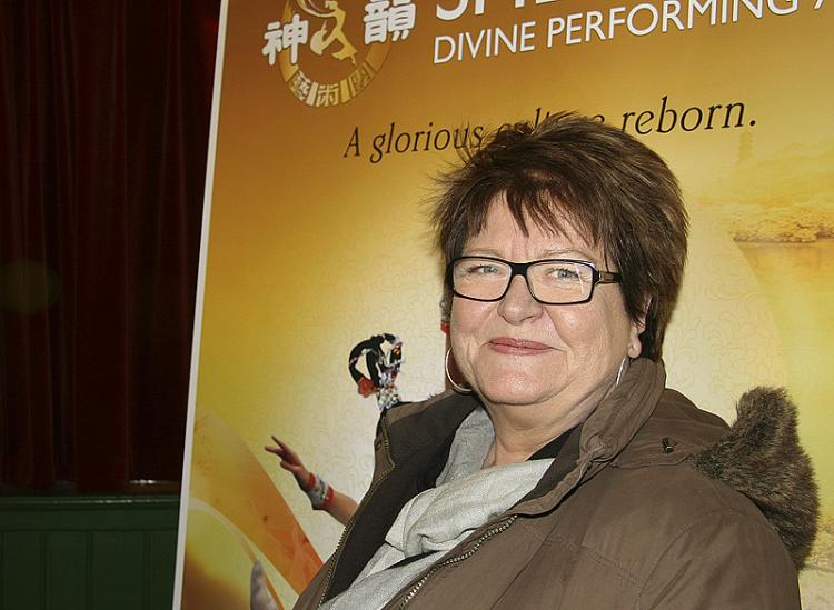 'It was really something to remember,' said Mrs. Wensheim. (Pirjo Svensson/The Epoch Times)