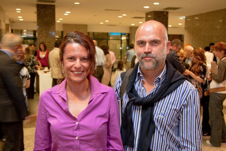 Mr. Mehmet Buyukfirat, who came to see Shen Yun with his friend Mrs. Gulzan Aybasti. (Jason Wang/The Epoch Times)