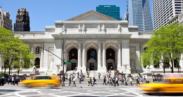 The New York Public Library, Stephen A. Schwarzman Building on Fifth Avenue