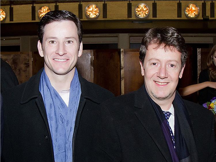 Lae Xavier and Peter Dommer at Lincoln Centre's David H. Koch Theatre following the Premiere of Shen Yun Performing Arts on Jan. 6, 2011. (Seth Holehouse/The Epoch Times)