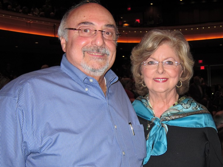 Rich Salamone and his wife,Paula, attend Shen Yun