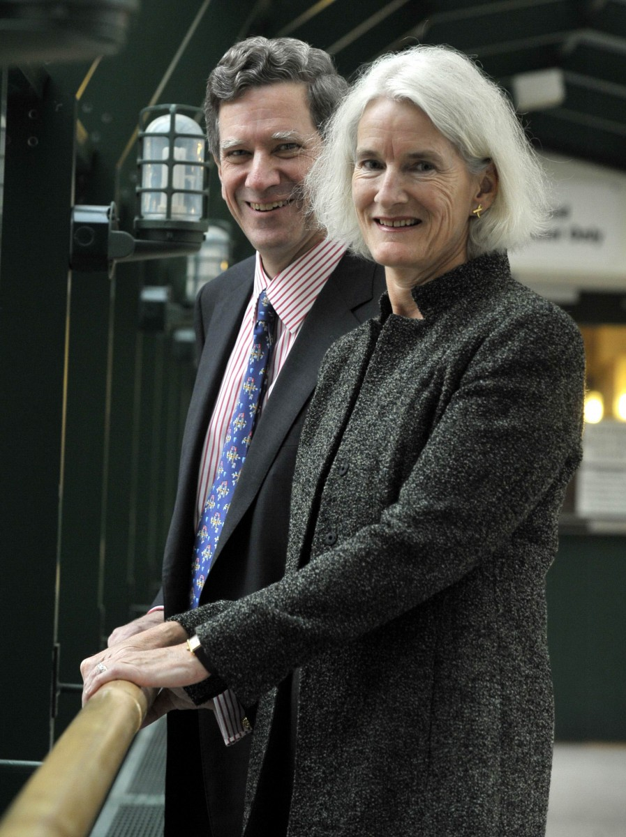 Philanthropists Jamie and Patsy Anderson