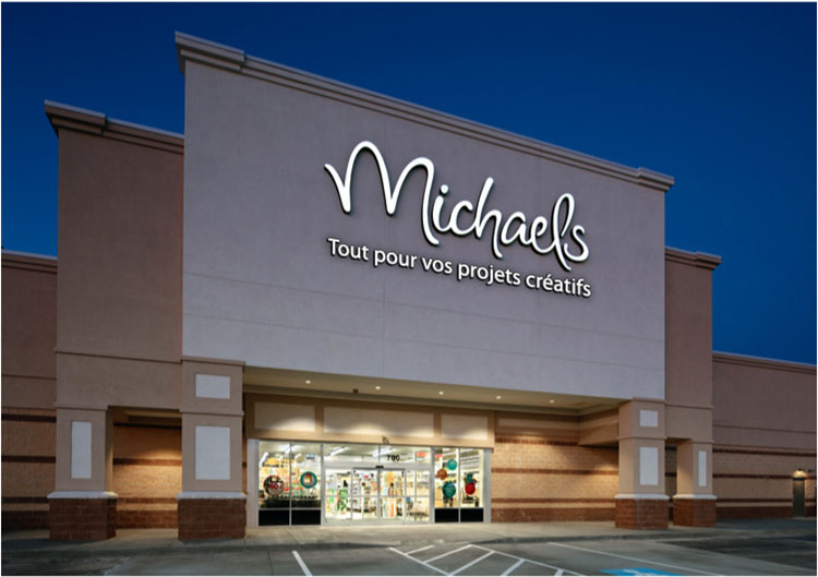 Model of the Michaels stores