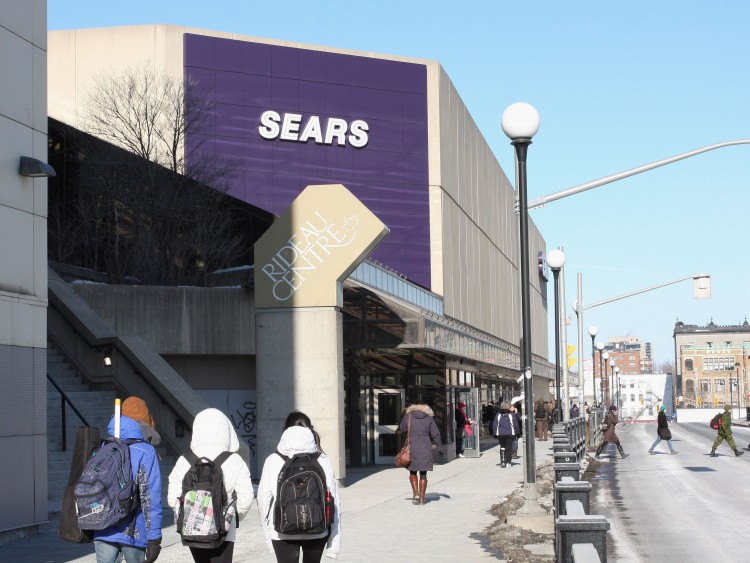 Sears at Ottawa Rideau Centre