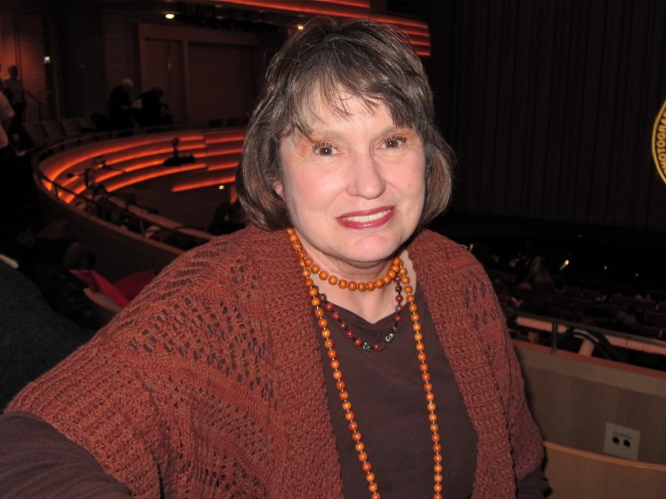 Kathryn Brown attends Shen Yun Performing Arts