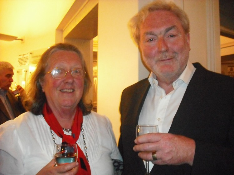 Paul Riddout and Valerie Savage
