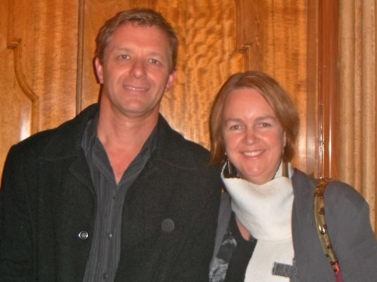 Steve and Carole Kernohan attend Shen Yun