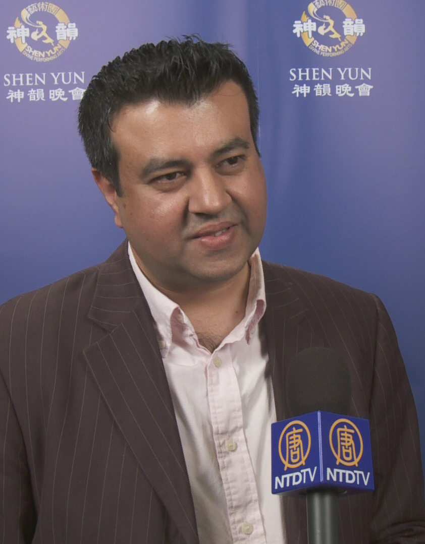Kash Akram talks about his Shen Yun experience