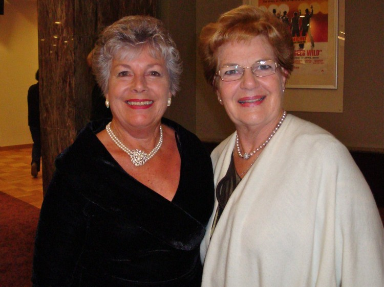 Dame Malvina Major and Patricia Hancock attend Shen Yun