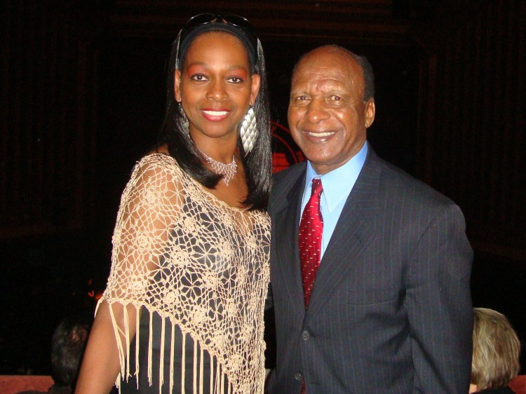 Cookie Lonie with Jesse White at Shen Yun