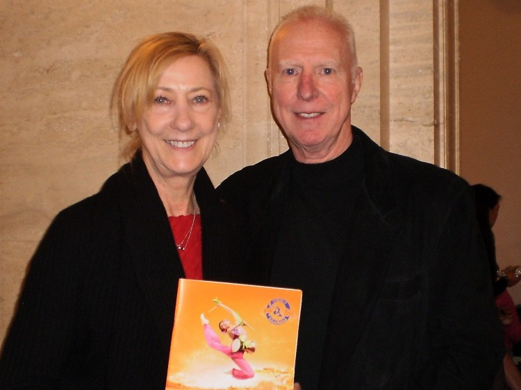Patricia Okenica and Steve Aechyes attend Shen Yun