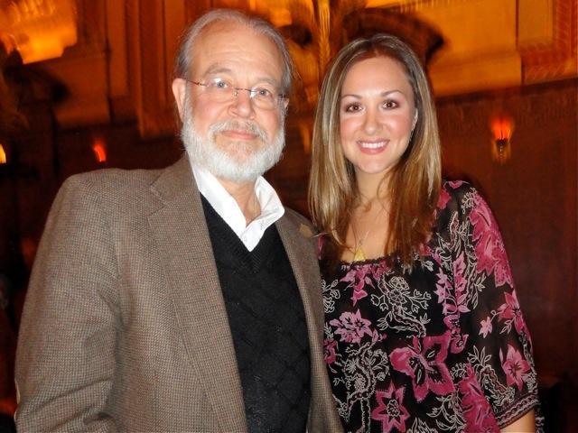 John Fleming, a veterinarian, and his daughter, Laura Ghera, a music teacher, attend Shen Yun