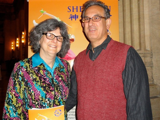 Holly Rosencranz and Warren Lavey attend Shen Yun