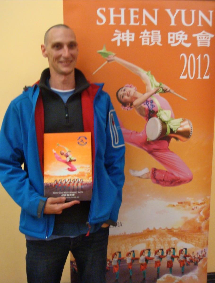John Rawls at Shen Yun Performing Arts