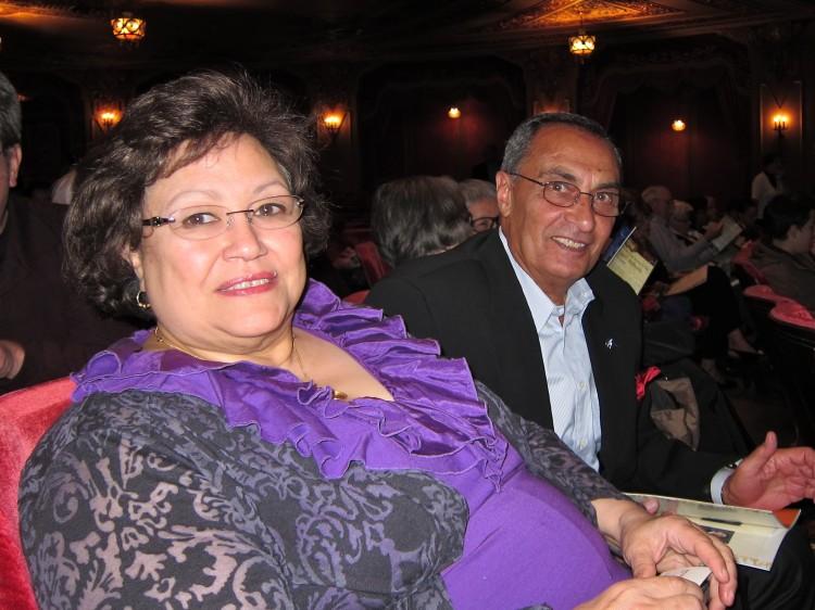 Magda Minshawi and her husband, Dr. Mohamed Minshawi, attend Shen Yun