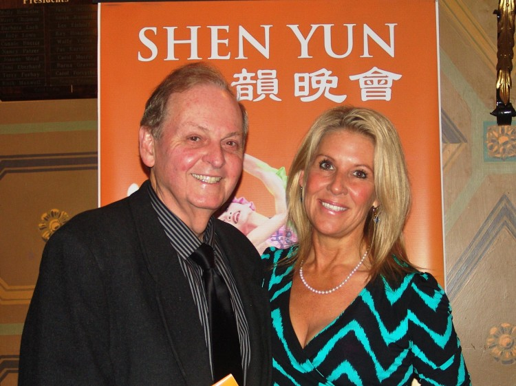 Roger Blackwell and Linda Blackwell attend Shen Yun