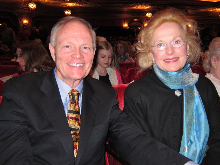 Alan and Angelique Smith attend Shen Yun