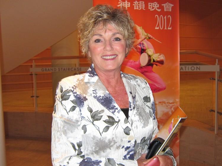 Jeanne Melashenko attends Shen Yun