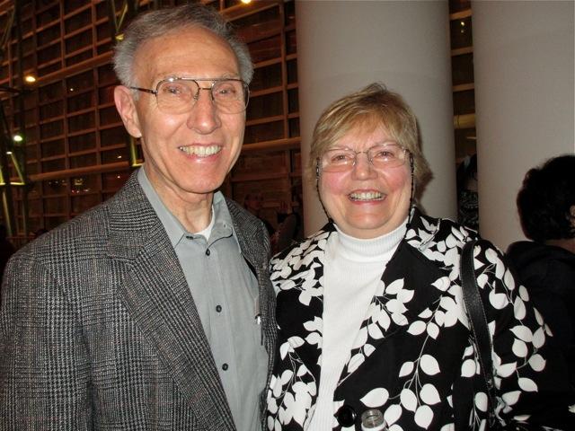 Larry Jageman and his wife, Tracy Jageman, attend Shen Yun