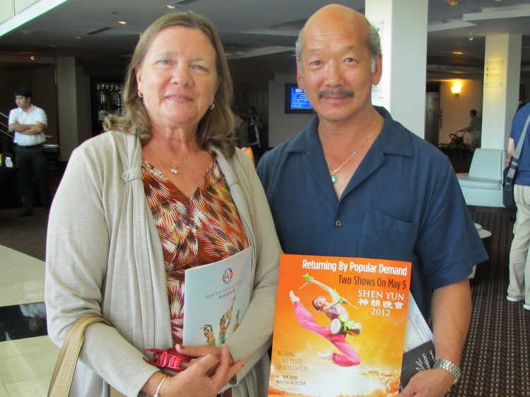 Diana and David Yee attend Shen Yun