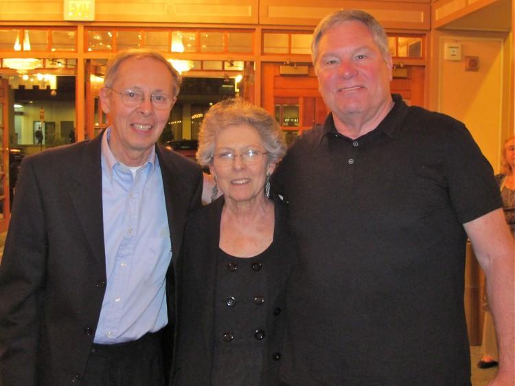 Bob Dichico, Kathy and John Woods (R) attend Shen Yun
