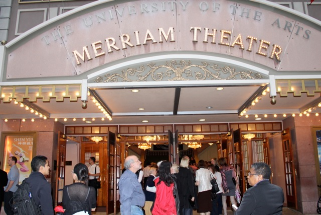 Philadelphia's Merriam Theater.