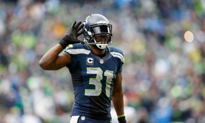 Seahawks strong safety Kam Chancellor has been named to three Pro Bowls in his five years in the league. (Christian Petersen/Getty Images)