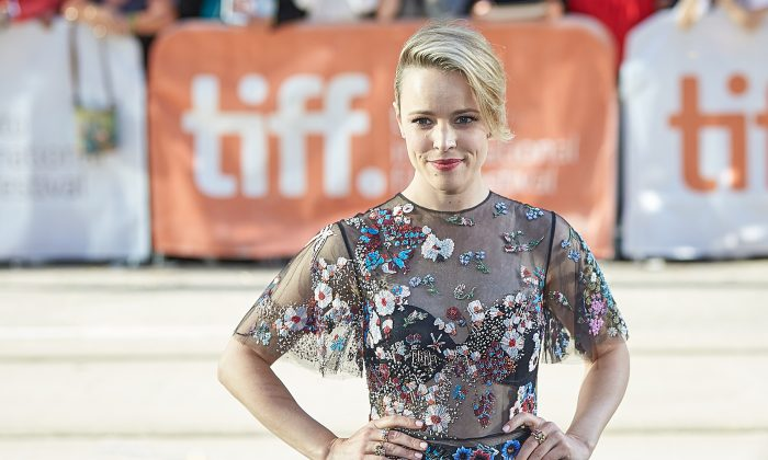 """Rachel McAdams arrives for the premiere of """"Spotlight"""" on Sept. 15, 2015. (Don Quincy/DQC Photo)"""