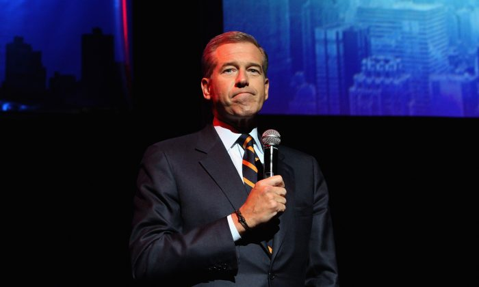 Brian Williams will be a breaking news reporter for MSNBC. (Lucas Jackson/Reuters)