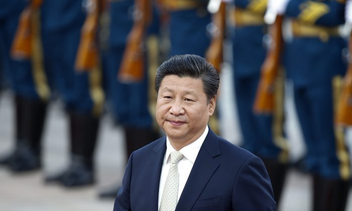 Chinese leader Xi Jinping in Beijing, China on Sept. 14, 2015 (Lintao Zhang/Getty Images)